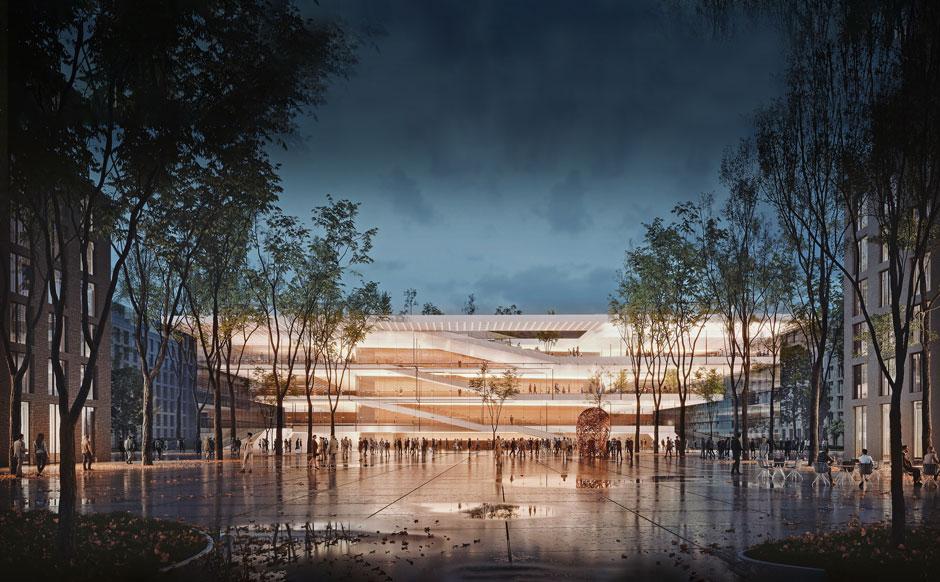Nové Lido rozšíri centrum Bratislavy a ponúka  v nábrežnej štvrti ideálne miesto pre kultúru a kongres