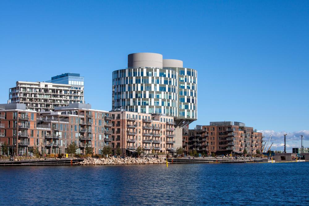 Súčasťou štvrte Nordhavn je aj nábrežná promenáda, ktorá bude mať po dokončení viac ako kilometer. Zdroj: Shutterstock