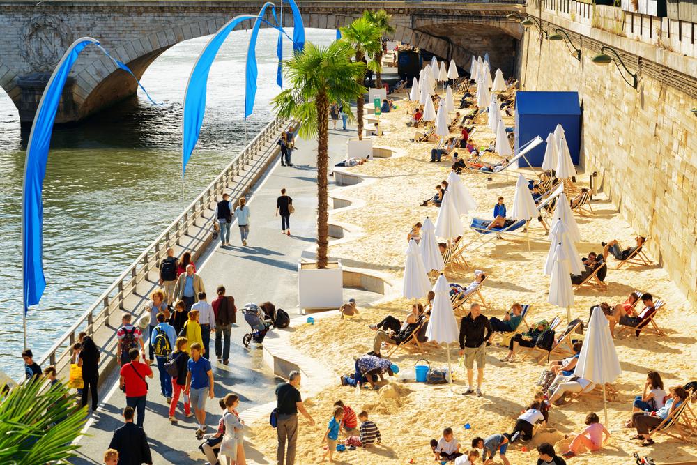 7 obľúbených mestských pláží v Európe